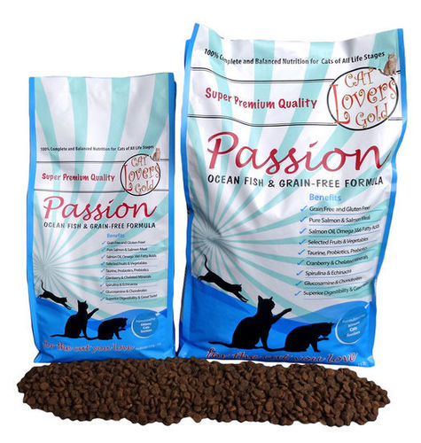 Cat Lovers Gold Passion Poisson 5kg